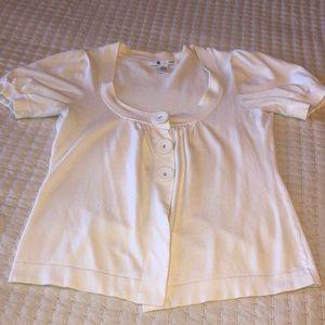 SHRINKING VIOLET Adorable three button cardigan